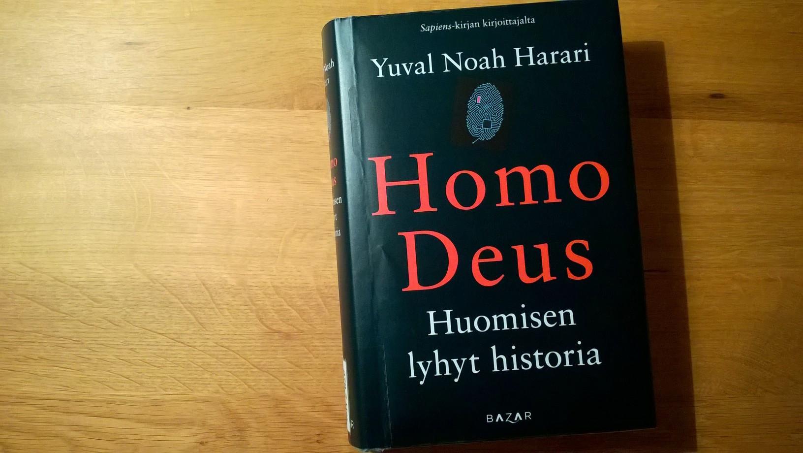 homo_deus_kirja_harari_tulevaisuus_data_keinoaly_AI